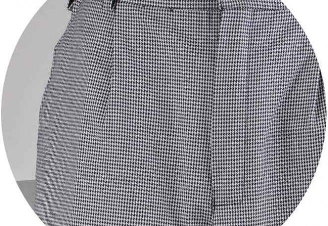 Работно облекло с плат Пепит, Workwear with Pepit fabric