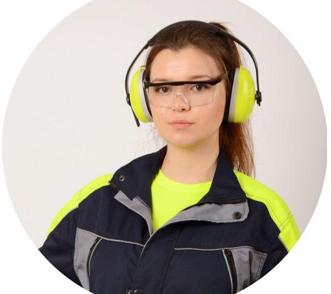 Работно облекло с плат Астра 2005, Workwear with fabric Astra 2005