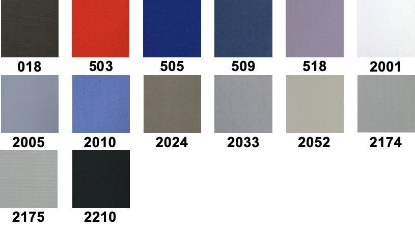 Астра - Поплин за ризи - цветове